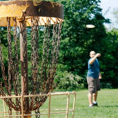 frisbeegolf